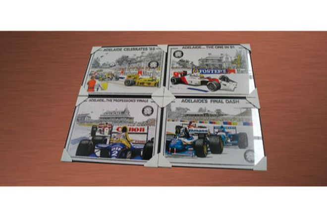Framed Prints - 11 x Adelaide Grand Prix (1985-95)