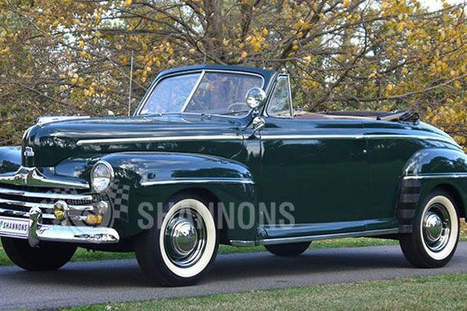 Ford Deluxe Convertible Lhd Auctions Lot 22 Shannons