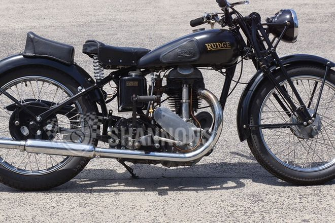 Rudge 500cc Motorcycle