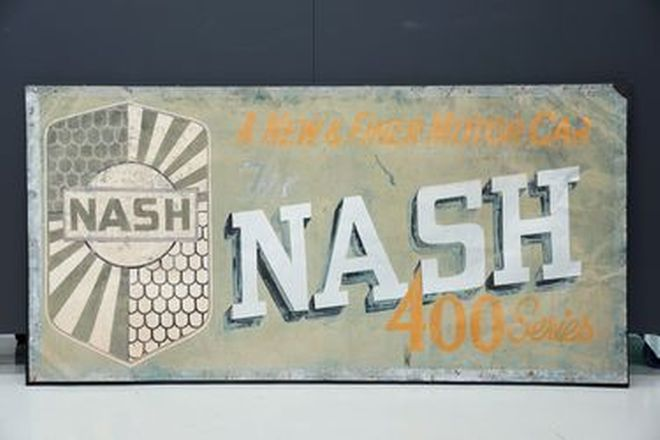 Tin Sign - Nash Dealer Sign (185cm x 95cm)