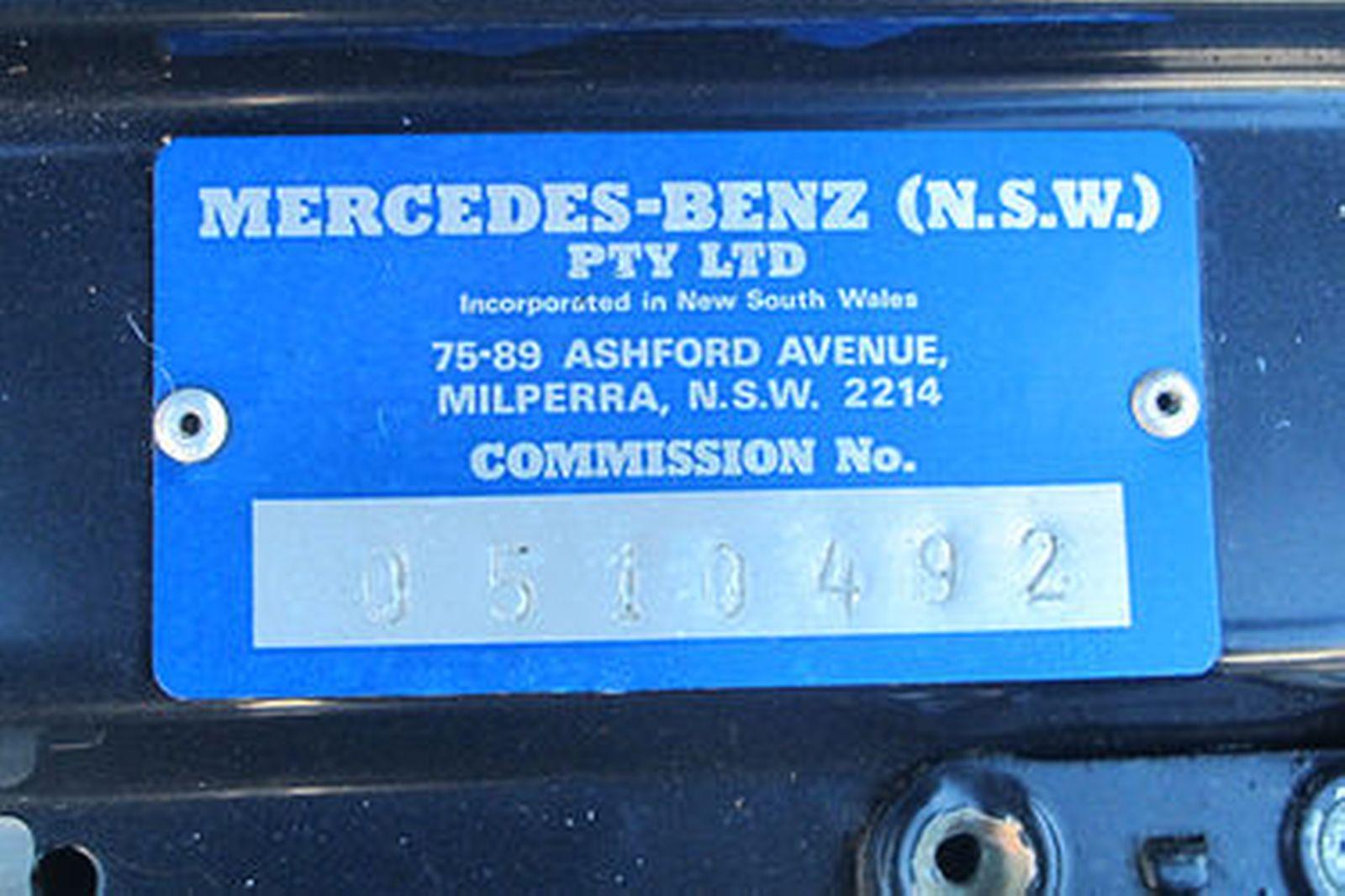 Mercedes-Benz 380SL Convertible