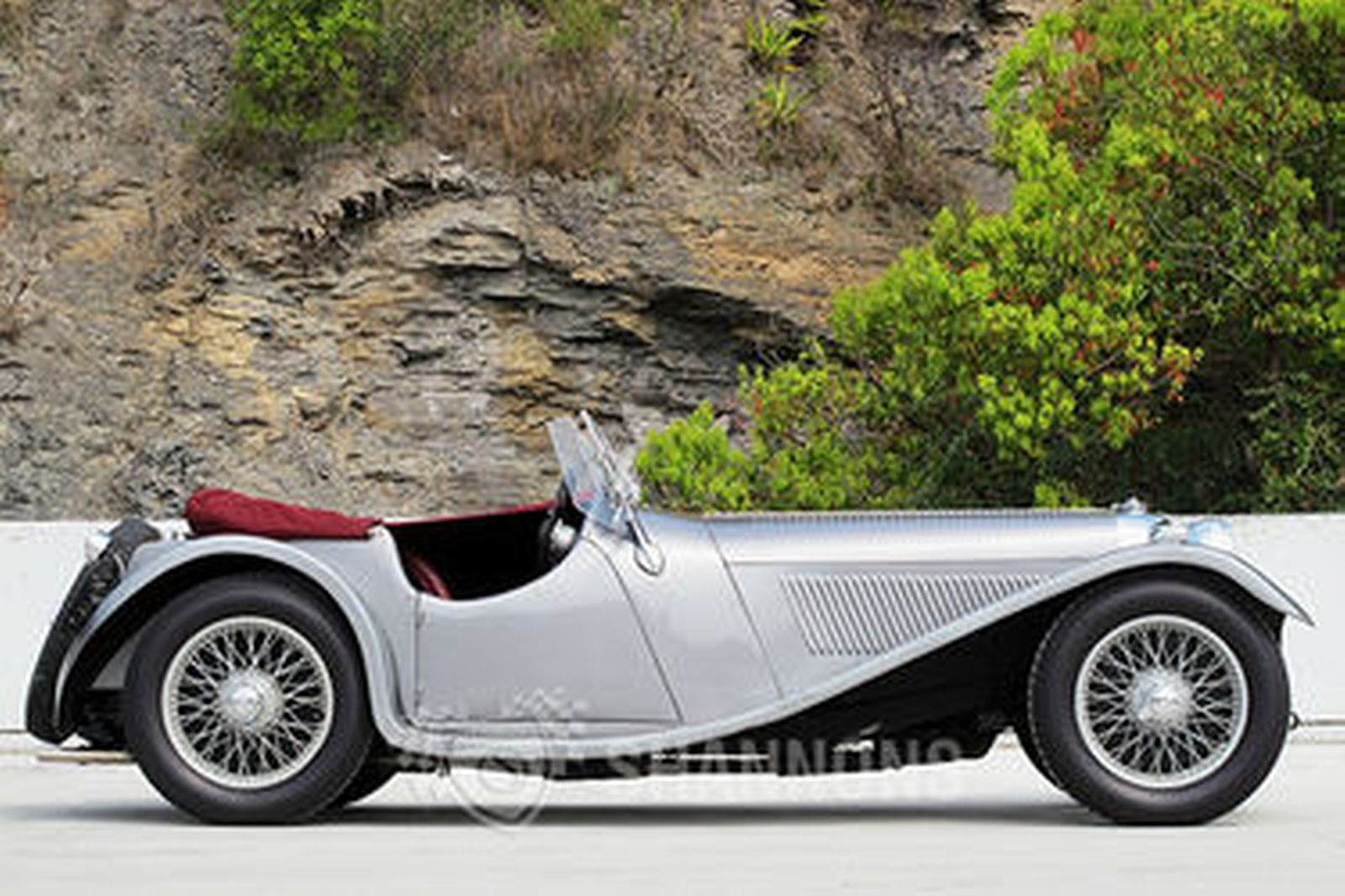 Quot Finch Amp Hocking Quot Jaguar Ss100 Replica 1937 Auctions