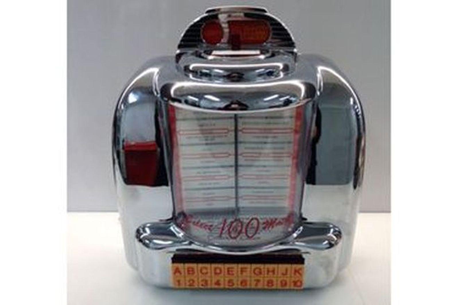 DINER JUKE BOX - RADIO CASSETTE WORKING