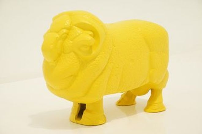 Cast Alloy Golden Fleece Ram (Reproduction)