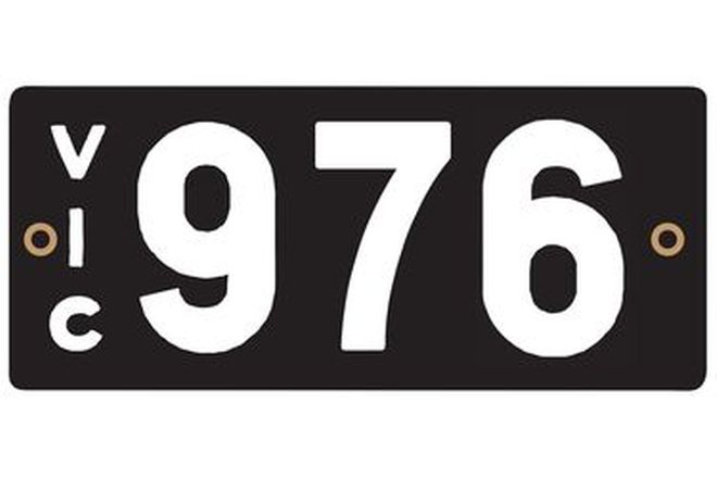 Victorian Heritage Plate '976'
