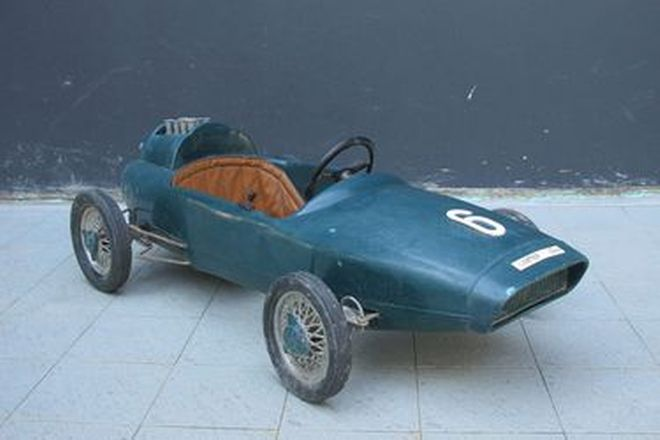 Pedal Car - c1960?s Pines Lotus Racing Car (115 x 55 x 35cm)