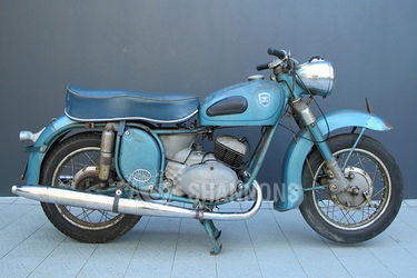 Adler 250cc 'Favorit' Motorcycle