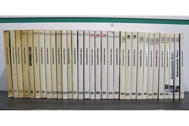 Books - Automobile Year Collection (Volumes 15-46)