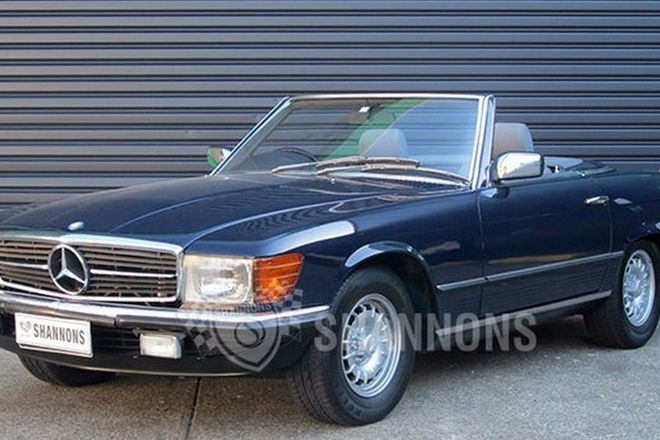 Mercedes-Benz 380SL Convertible