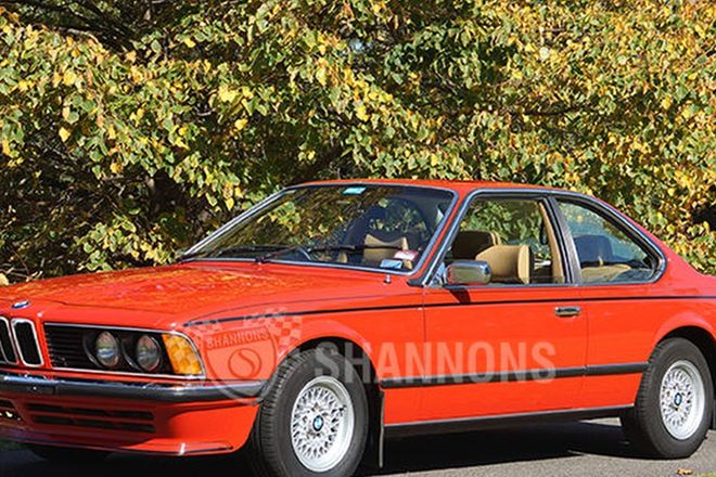 BMW 633CSi Coupe