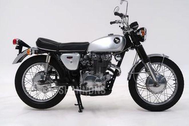 Honda CL450 Motorcycle