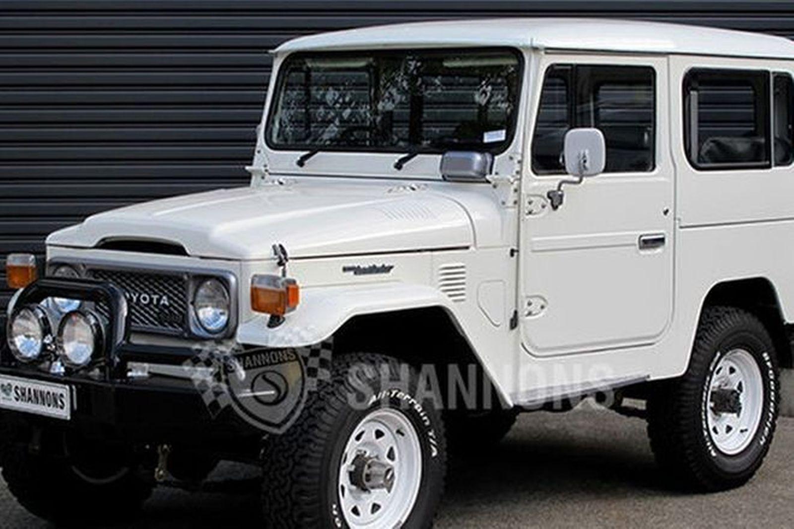 sold toyota bj42 swb landcruiser diesel auctions lot 4 shannons. Black Bedroom Furniture Sets. Home Design Ideas