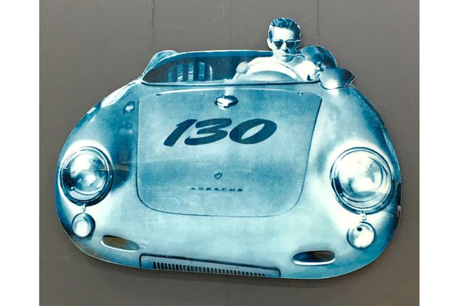 Digital Print - James Dean Porsche