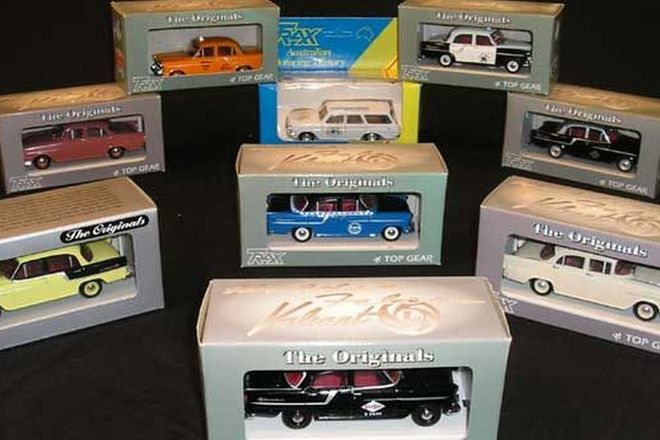 9x Trax Model Cars featuring FC, FB, & EH Holdens. (1:43 scale)