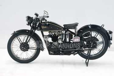 Velocette MOV 250cc Motorcycle