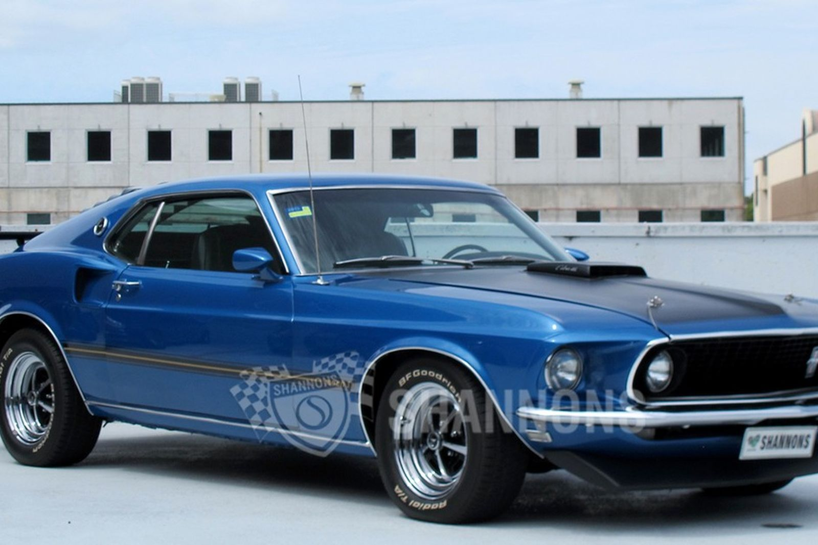 Sold Ford Mustang 428 Super Cobra Jet Mach 1 Fastback Lhd