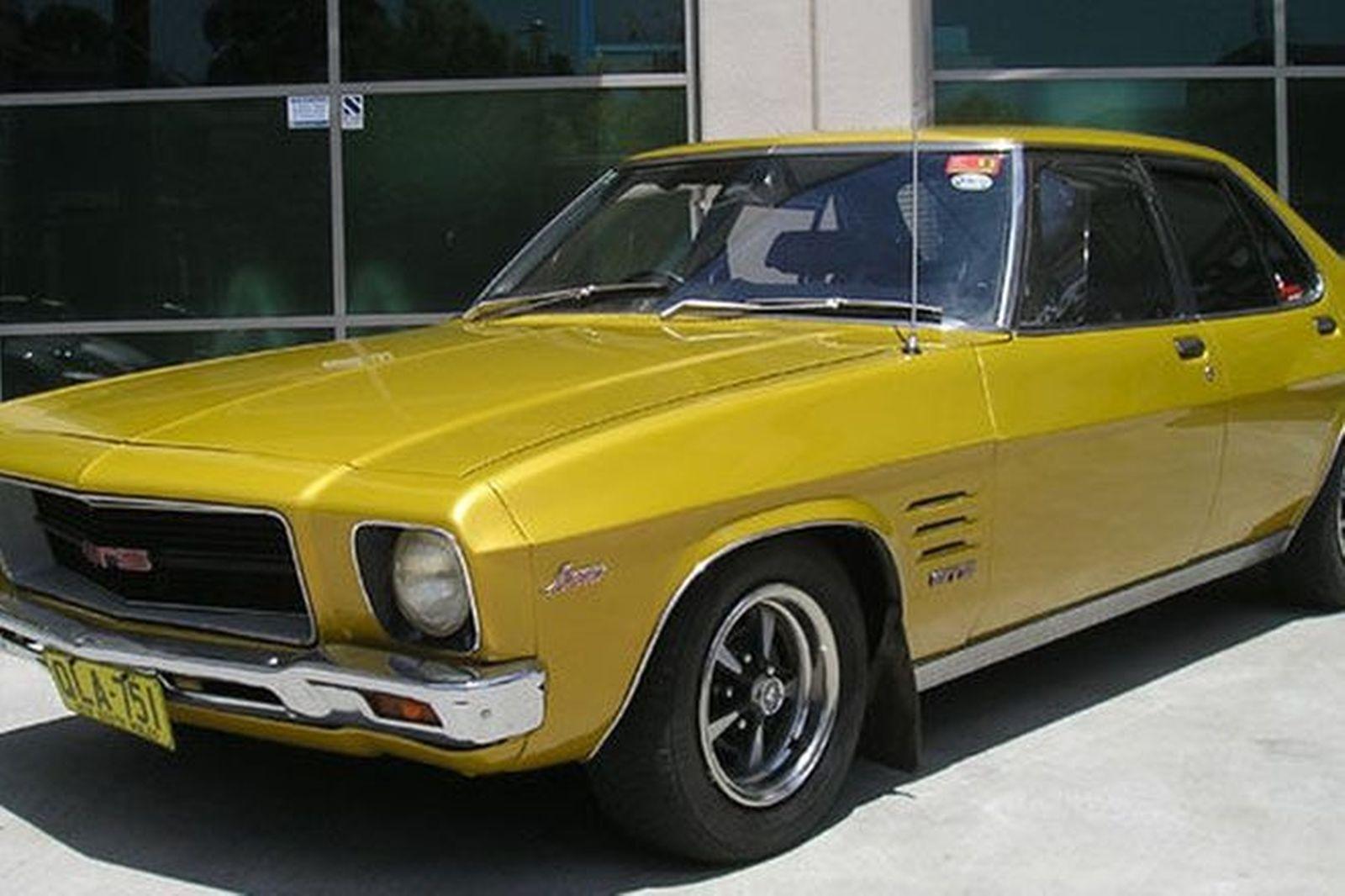 Sold Holden Hq Monaro Gts 350 Sedan Auctions Lot 12