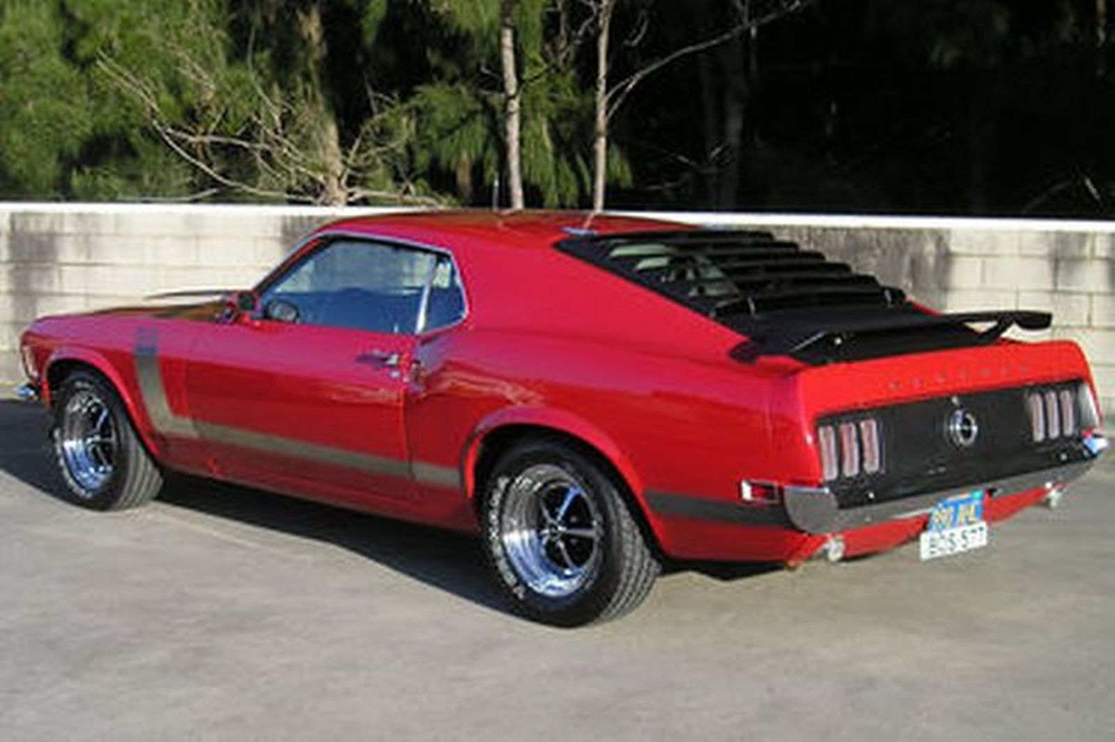 1969 Ford Mustang Boss 429 >> Ford Mustang Boss 302 Fastback (LHD) Auctions - Lot 30 ...