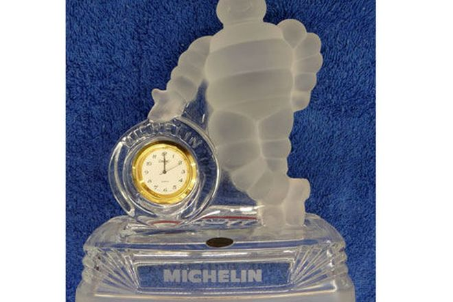 Statue - Michelin Man Clock
