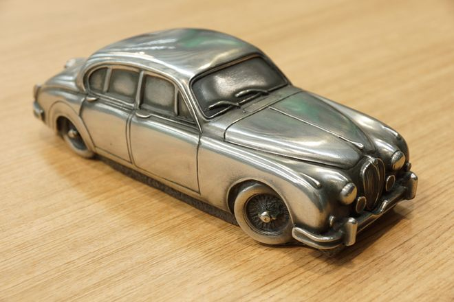 Various Pewter Model Cars