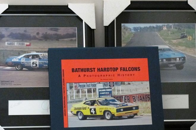 Prints and Book - Bathurst Hardtop Falcons (1 Book and 3 Signed Prints)