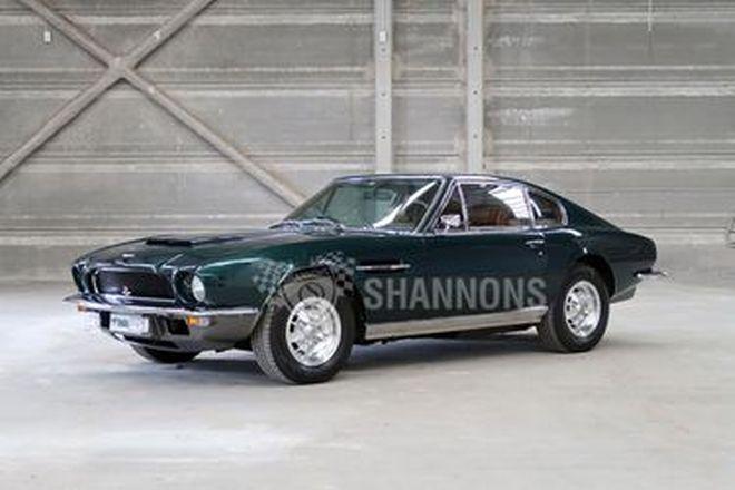 Aston Martin V8 Series 2 Coupe