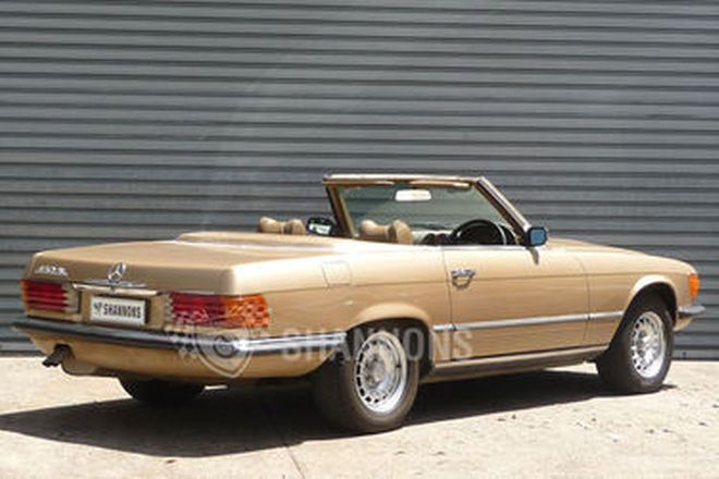 Mercedes-Benz 450SL Convertible