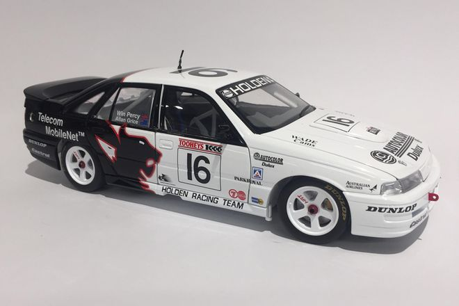 Holden VN SS Group 'A' Driver - Alan Grice/Win Percy Brand -  Bianti Models (Scale 1:18)