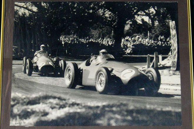 Framed Photo - 1956 Grand Prix at Albert Park