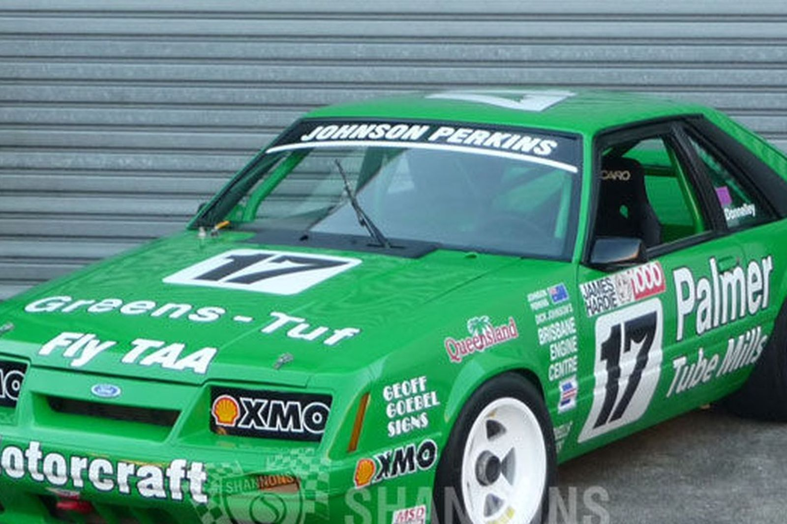 Ford Mustang Gt Greens Tuf Ex Dick Johnson Race Car Group A