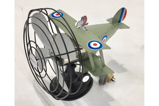 Snoopy 1 with the Fan