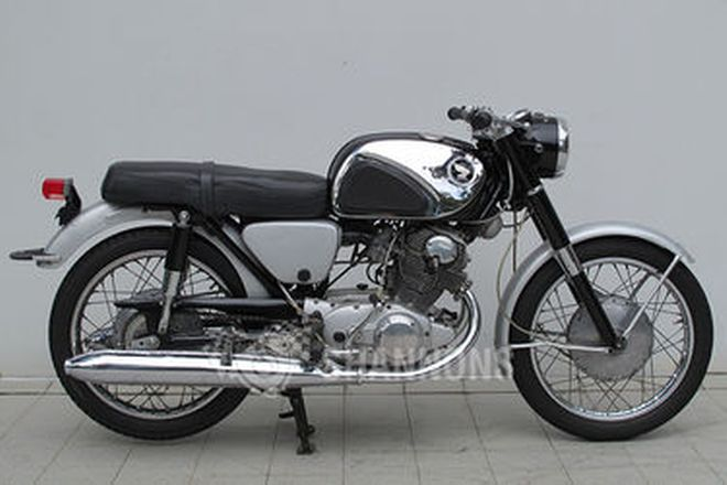 Honda CB72 250cc Motorcycle