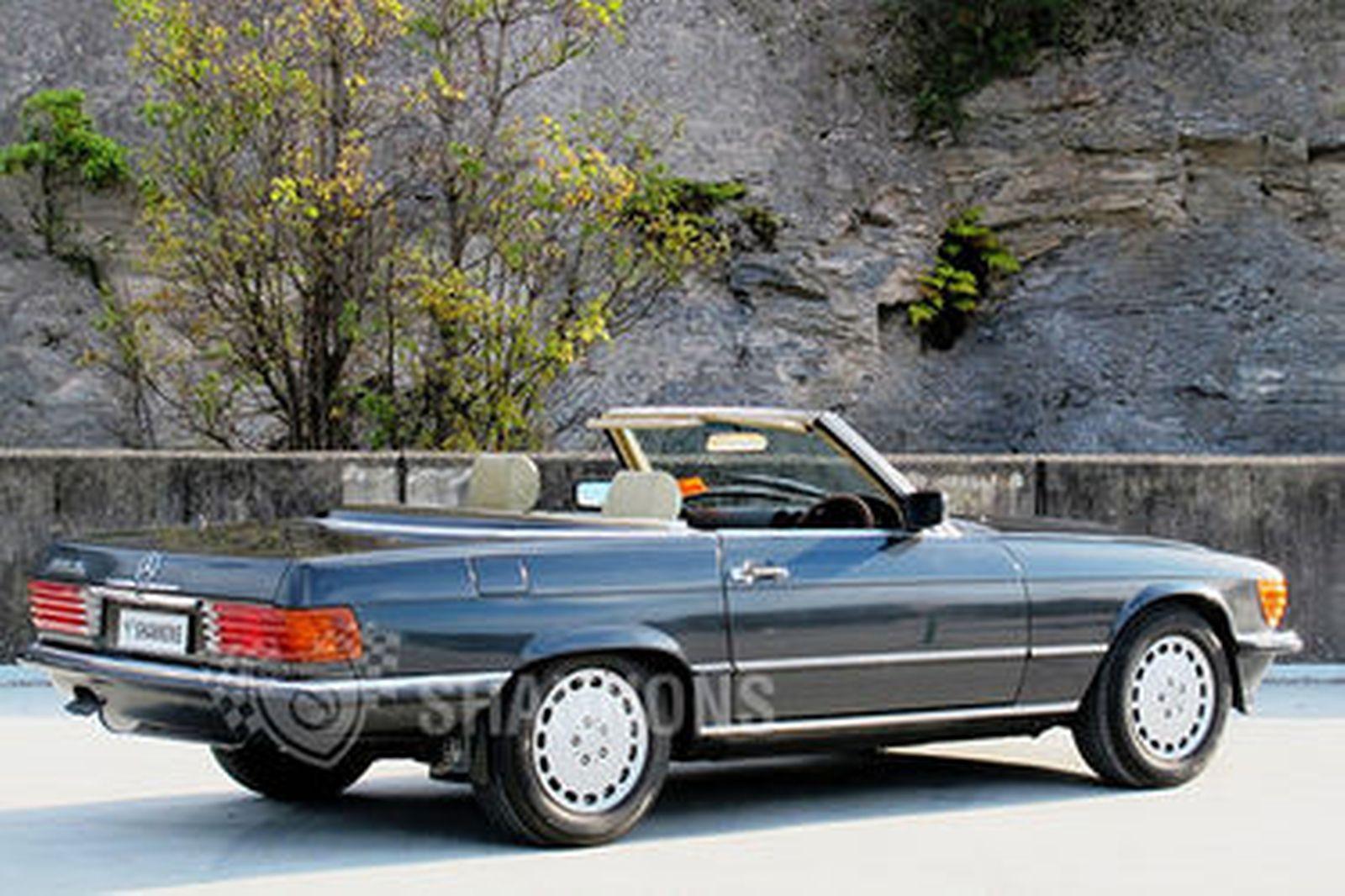 Sold mercedes benz 300sl convertible auctions lot 3 for Mercedes benz convertible