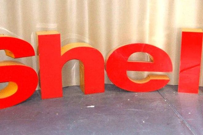 Shell Acrylic 3D Letters