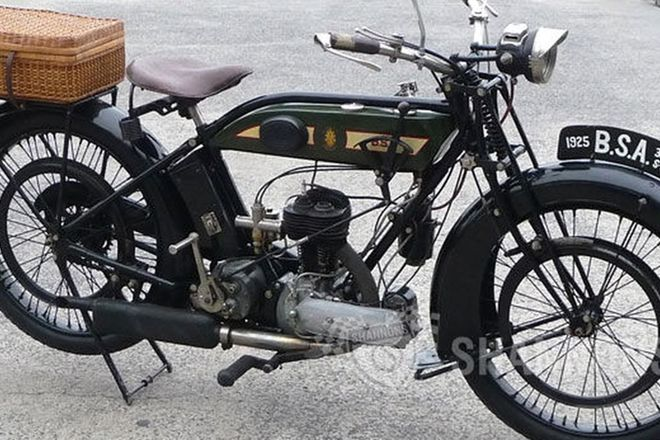 BSA 350cc SV Solo Motorcycle