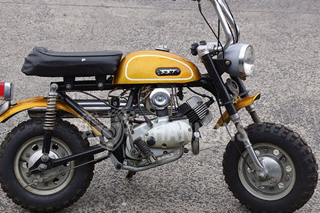 SST Gemini 50cc Mini Bike