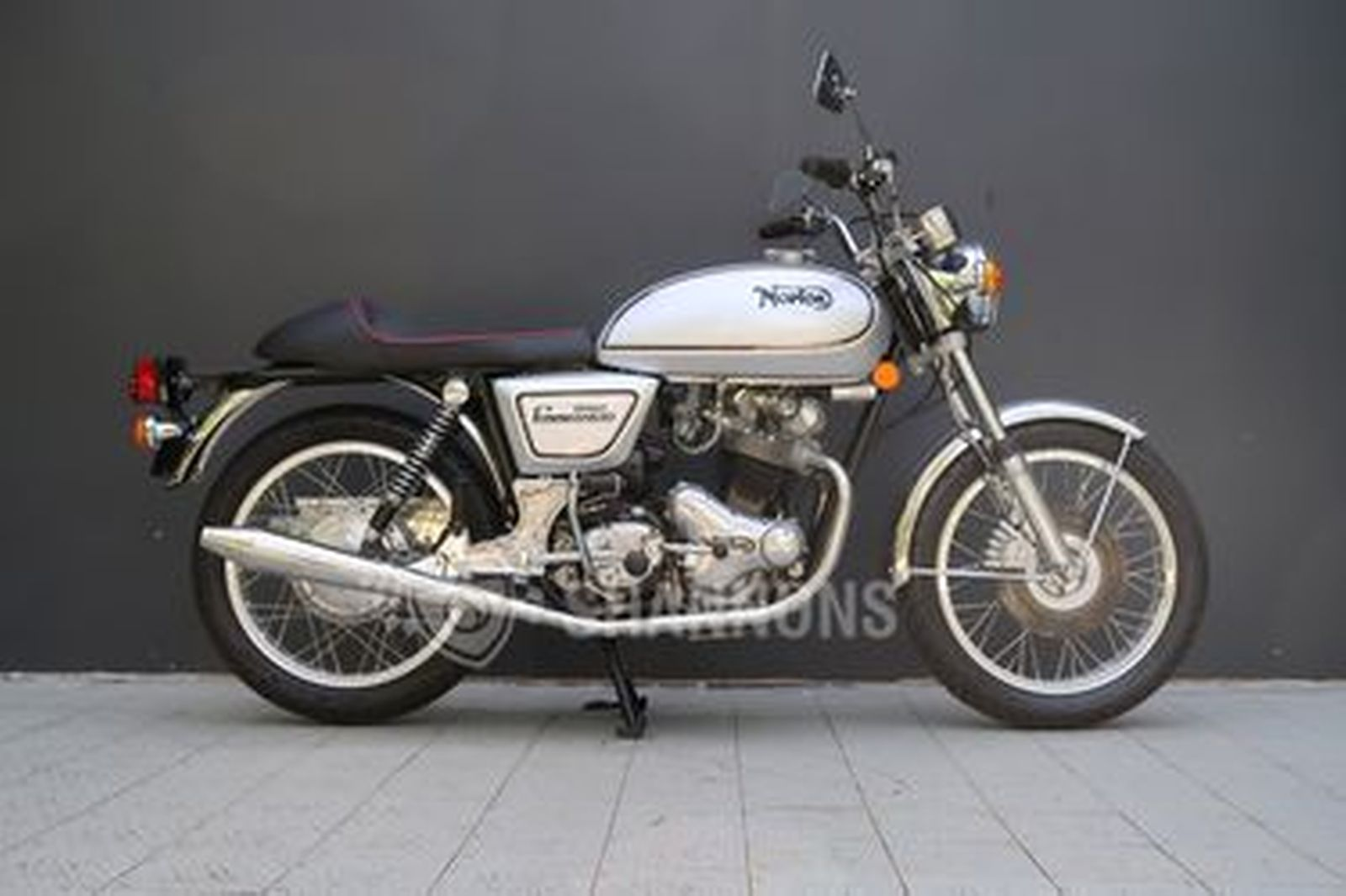 Norton 850 Commando Interstate Motorcycle