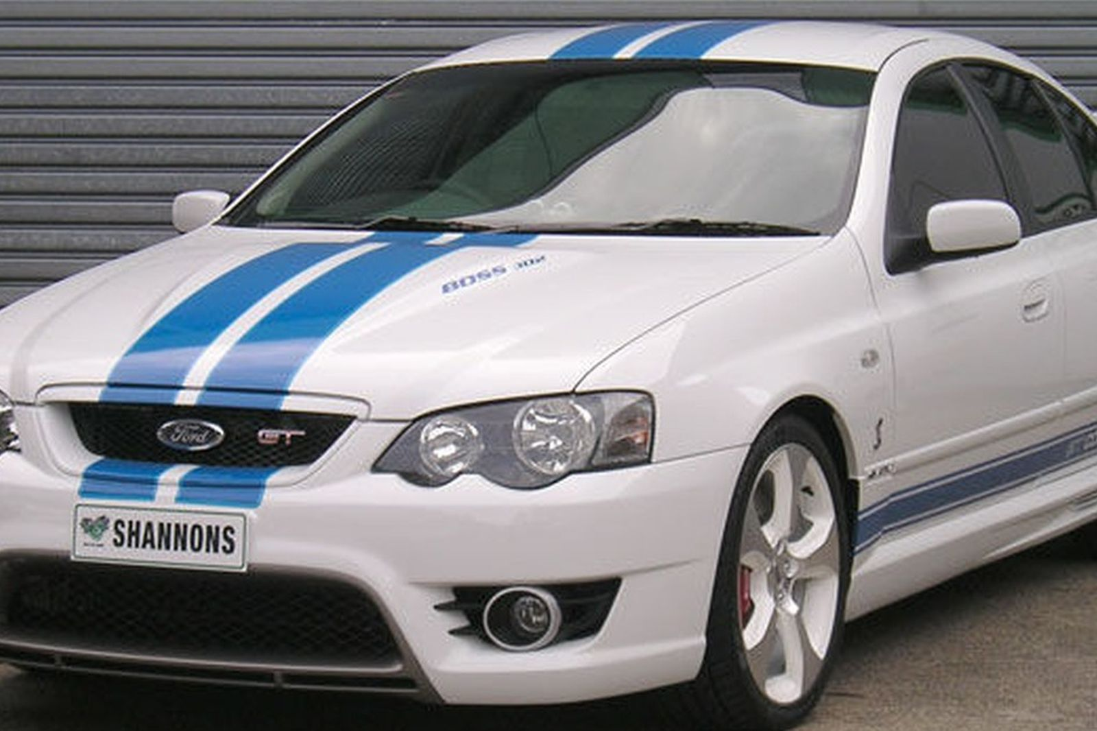 ford falcon bf gt cobra sedan auctions lot  shannons