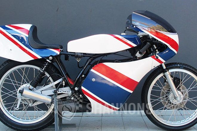 Honda MT125R (Production GP Racer) Motorcycle
