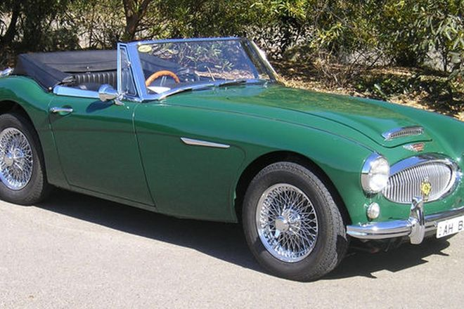 Austin Healey 3000 MkIII BJ8 Convertible