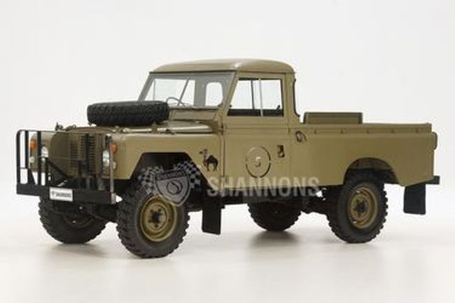Land Rover Series 2A 109 Defender Utility