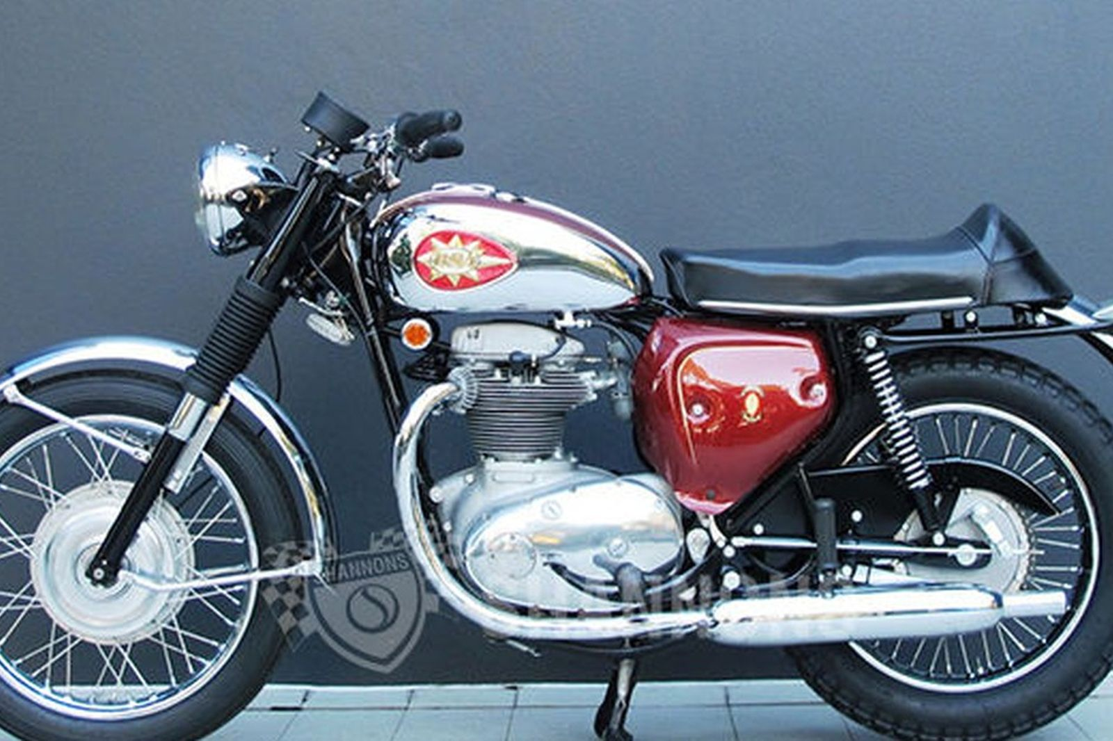 BSA A65 Thunderbolt 650cc Motorcycle