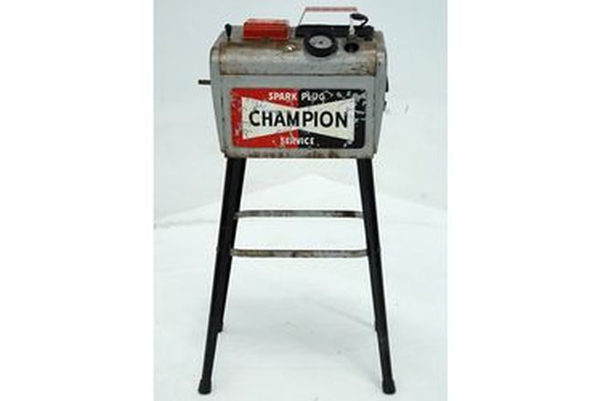Champion Spark Plug cleaner with hand books and accessories