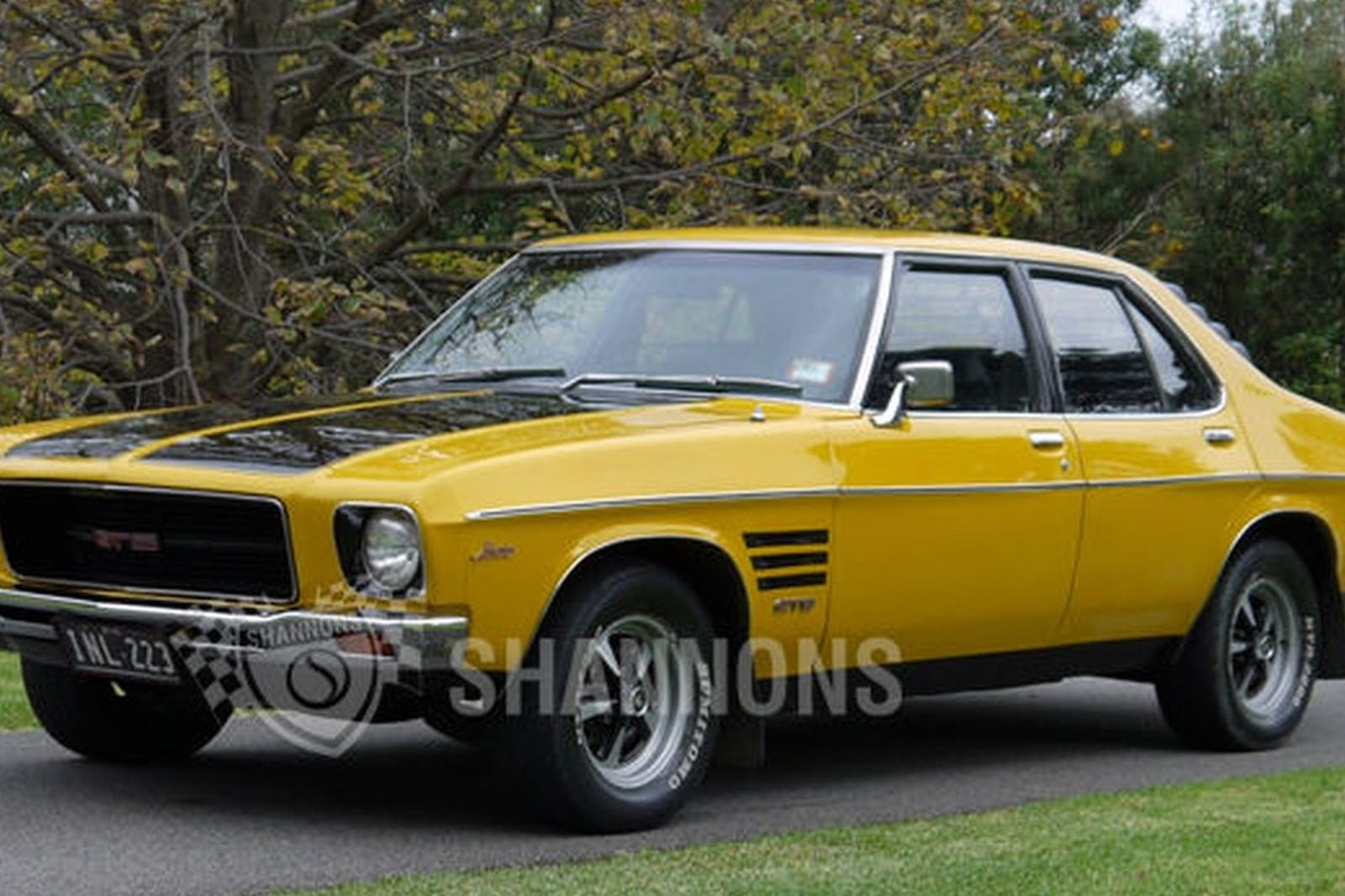 Sold Holden Hq Monaro Gts 253 V8 Sedan Auctions Lot 35