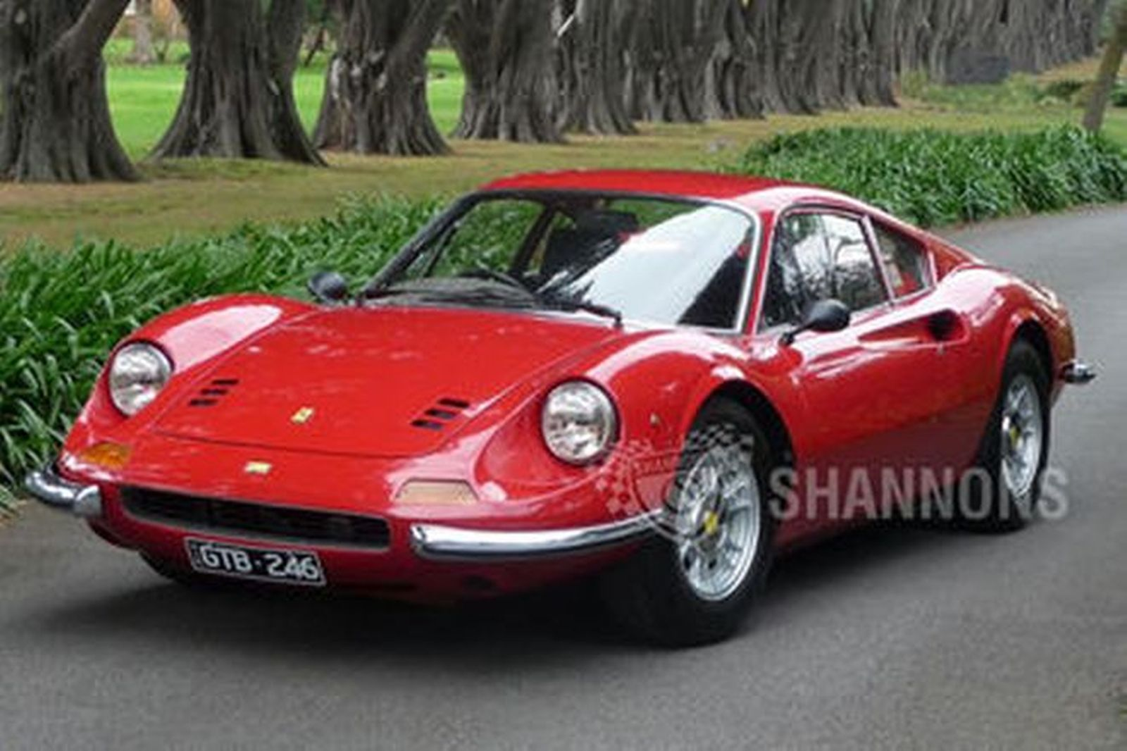 Sold Ferrari Dino 246 Gt Coupe Auctions Lot 33 Shannons