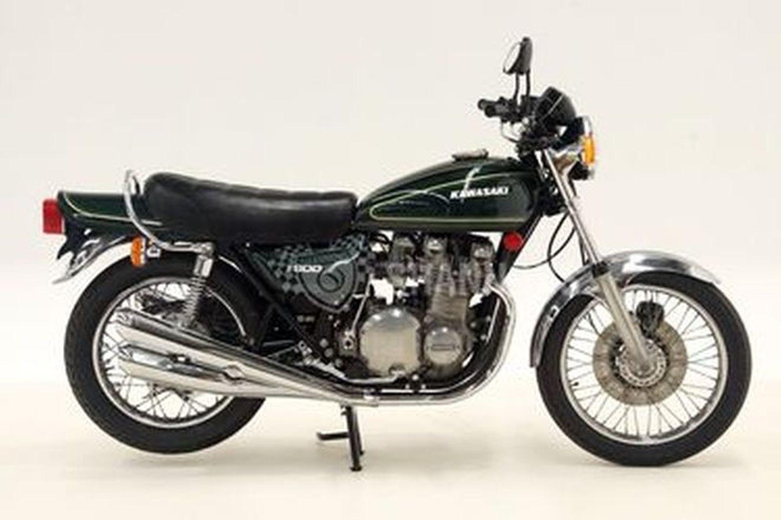Kawazaki Z900 Motorcycle