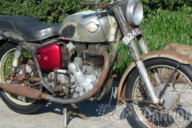Royal Enfield 'Big Head' Bullet 500cc Motorcycle (Project)