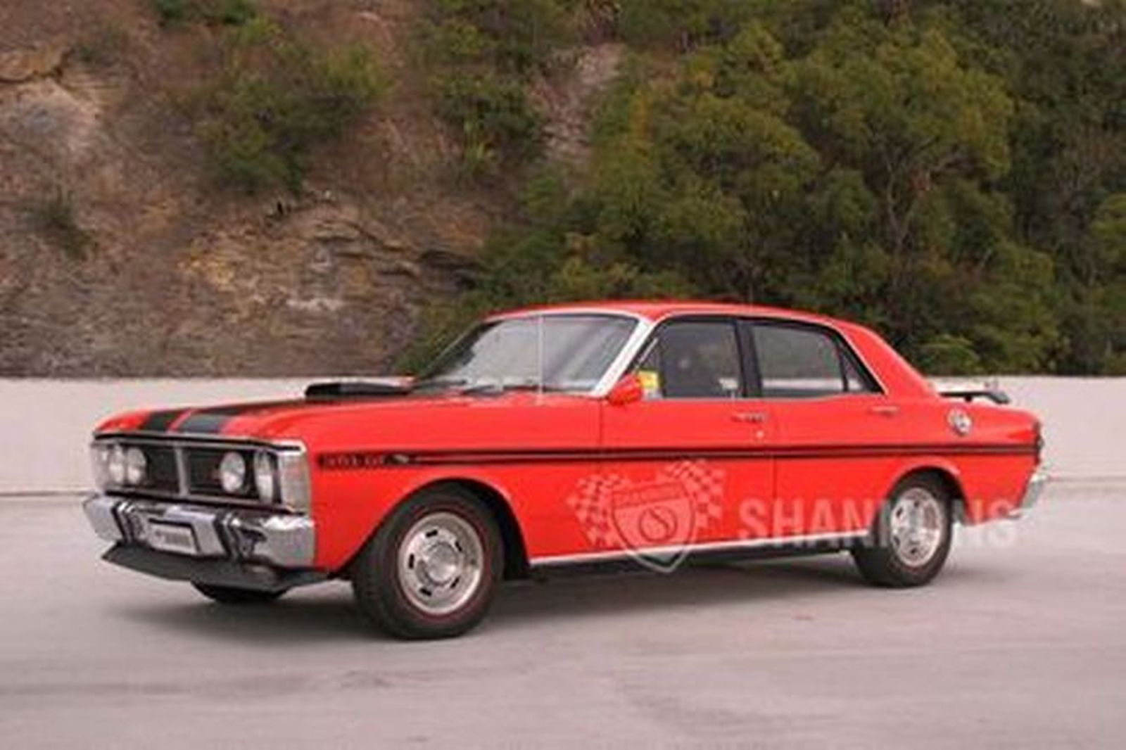 sold ford falcon xy gt sedan auctions lot 26 shannons