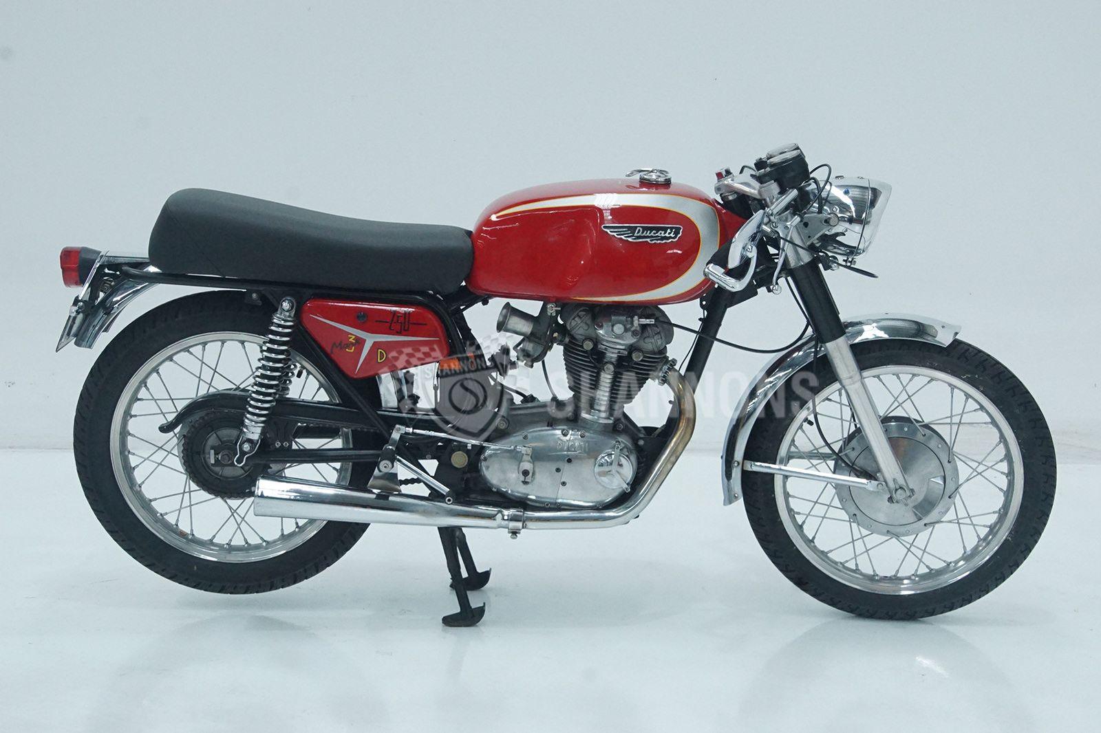 Ducati 250 MKIII Motorcycle