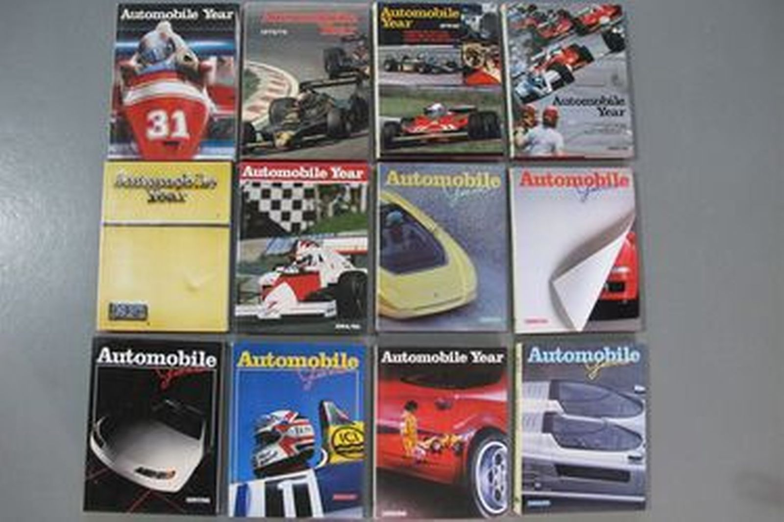 Books - Automobile Year Collection (Volumes 15 - 46)